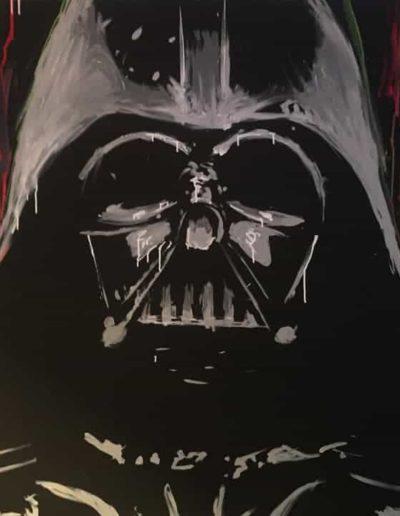 Darth Vader Star Wars Painting