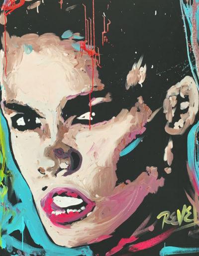 Grace Jones Speed Painting