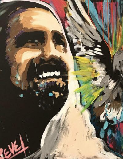 Live Jesus Painting