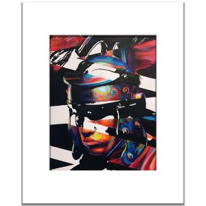 Modern pop art print
